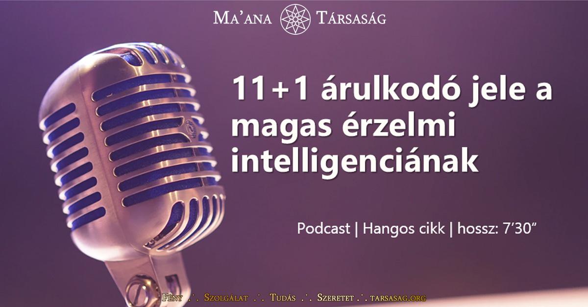 11+1 árulkodó jele a magas érzelmi intelligenciának